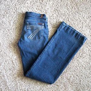 """7 For All Mankind Dojo """"New Nolita"""" Denim Jeans"""